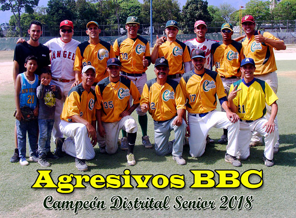 Agresivos Campeon Distrital Senior 2018