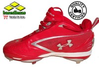 Botin 3-4 Under Armour Rojo 105_opt